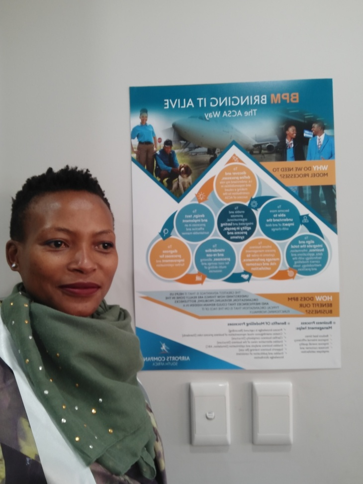 Ncumisa Nomna Mbusi Airports Company South Africa BPM Day